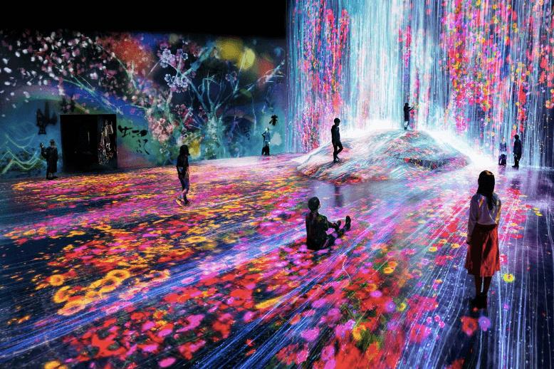 Annorlunda utställning Tokyo