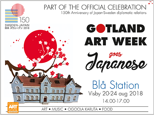 Gotland art week goes japanese