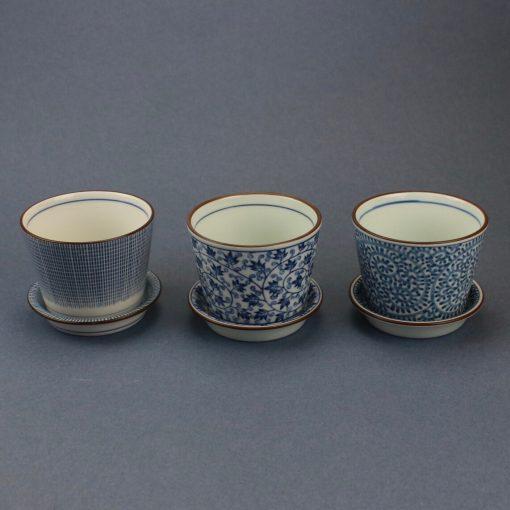 Mugg tre olika mönster