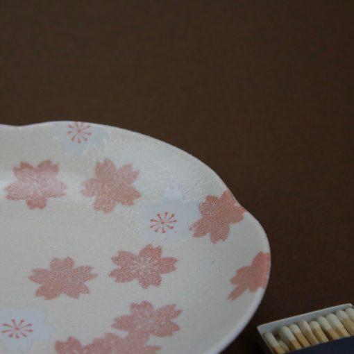 Fat körsbärsblomma rosa