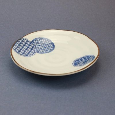 Assiette dot Japan