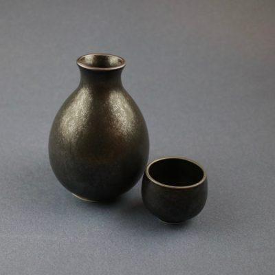 Sake kanna och mugg