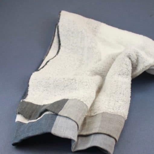 Kontex handduk blågrå
