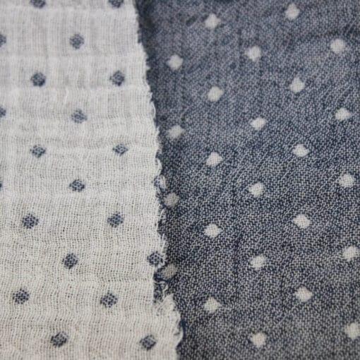 Tyg dots i två lager