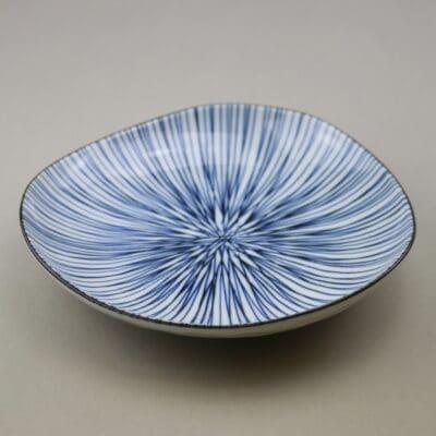 Japansk assiette blå