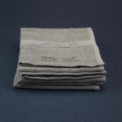Handduk bomull och lin