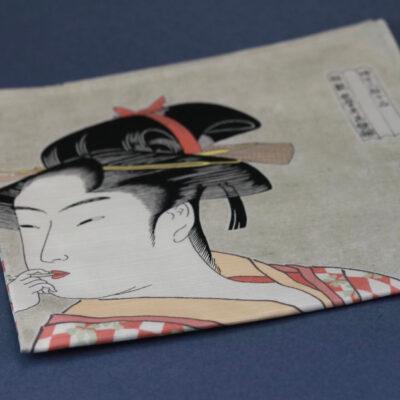 Furushiki japansk kvinna
